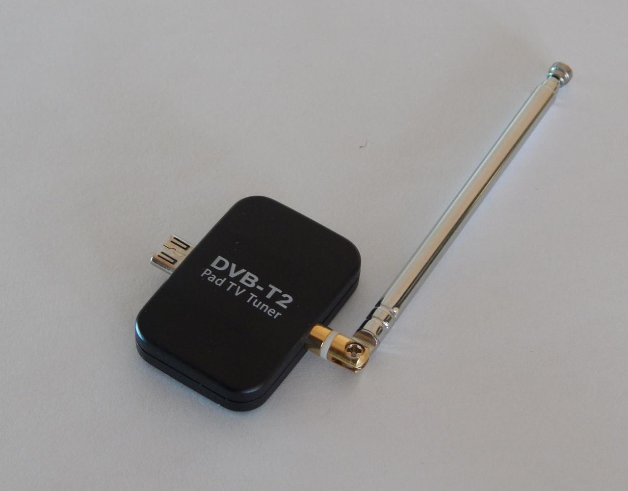 Тюнер телевизійний Pad-TV DVB-T2 для Android смартфона, планшета.