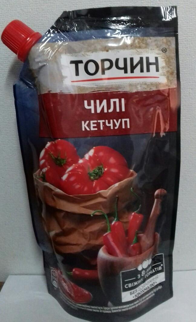 Кетчуп Чили 270 г Торчин