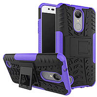 Чехол Armor Case для LG K10 2017 M250 Фиолетовый