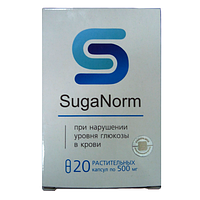 Капсулы от нарушения уровня глюкозы в крови SugaNorm ,  Капсулы против нарушения уровня глюкозы в крови Суга норм, Суга норм