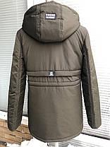 Куртка-парка весенняя для мальчика подростка 135-169 рост, фото 3