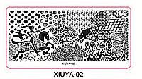 Пластина для стемпинга серии XIUYA №02