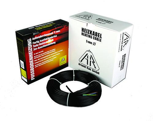 Нагревательный кабель Arnold Rak Standart 6106 EC (Германия) 40 м. Теплый электрический пол