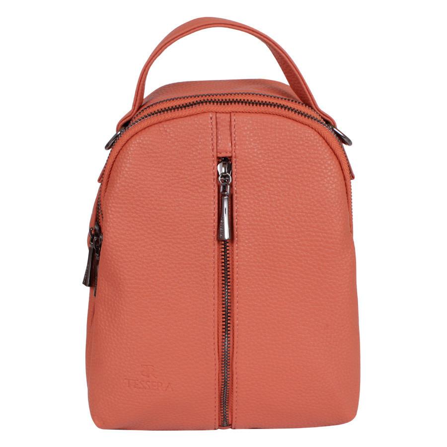 Сумка-рюкзак de esse T37660-904 Рыжая
