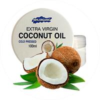 Кокосовое масло для омоложения кожи лица и Extra Virgin Coconut Oil, масло для омоложения кожи Экстра виржин, Экстра виржин