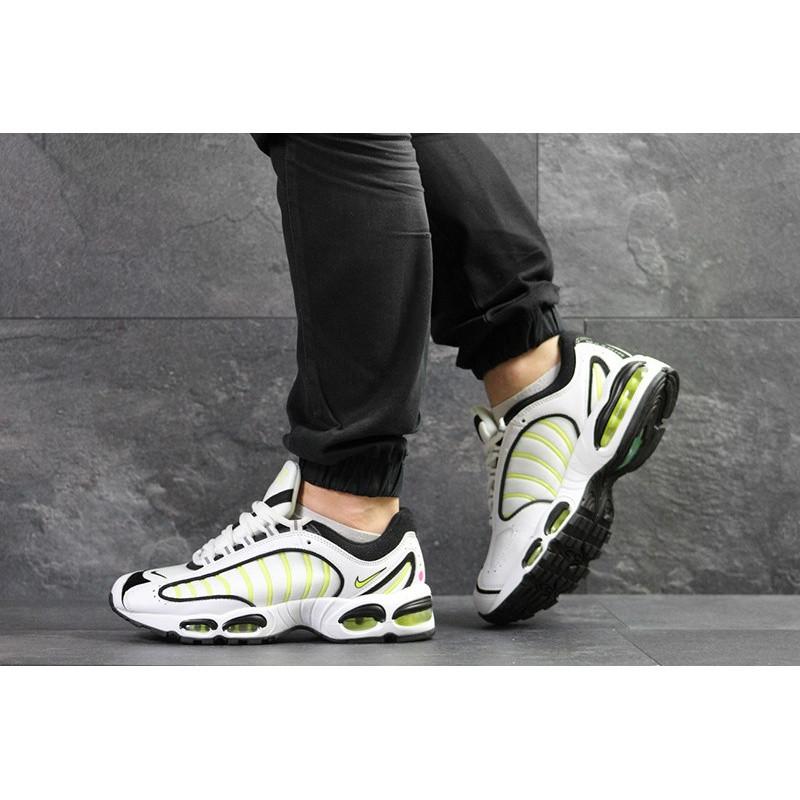 d0fe0d56 Мужские кроссовки Nike Air Max Tailwind 4 белые с неоновым р.42 Акция -49