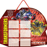 TF15-145K Доска с расписанием уроков + маркер KITE 2015 Transformers 145