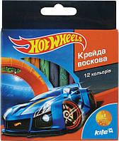 Мел восковый (12 цветов) KITE 2015 Hot Wheels 070 (HW15-070K)