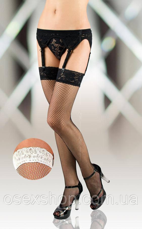 Чулки - Stockings 5516, white 5