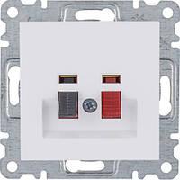 Розетка для апаратуры HI-FI (белый) Hager Lumina-2