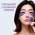 Охлаждающие гидрогелевые патчи с экстрактом агавыPetitfee Agave Cooling Hydrogel Eye Mask, фото 4