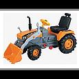 Педальний трактор, екскаватор з ковшем Active Traktor Велотрактор, фото 6