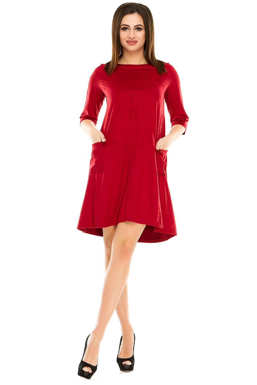 Платье 297 бордо