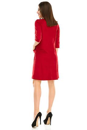 Платье 297 бордо, фото 2
