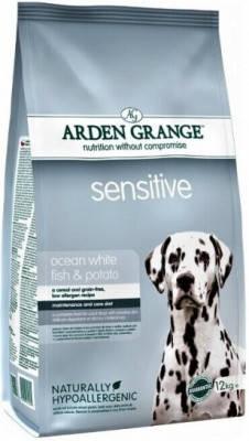Arden Grange (Арден Грендж) Sensetive Ocean White Fish Potato Беззерновой корм для собак 12 кг, фото 2