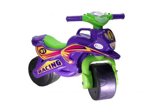 "Мотоцикл-каталка Doloni ""Байк Спорт"" (фиолетовый) 0138/60"