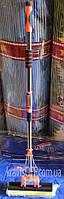 """Швабра с двойным отжимом, телескопической хромированной ручкой """"КиТ"""", производство Китай"""
