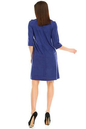 Платье 297 синее, фото 2