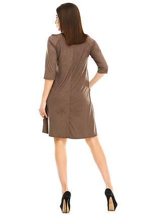 Платье 297 мокко размер 42, фото 2