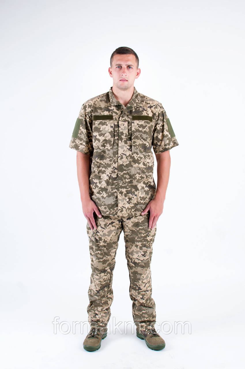 Военная Форма ЗСУ из Рубашечной Ткани