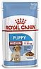 Корм Роял Канин МедиумПаппи Royal Canin Mеdium Puppy влажный для щенков средних пород 140 г
