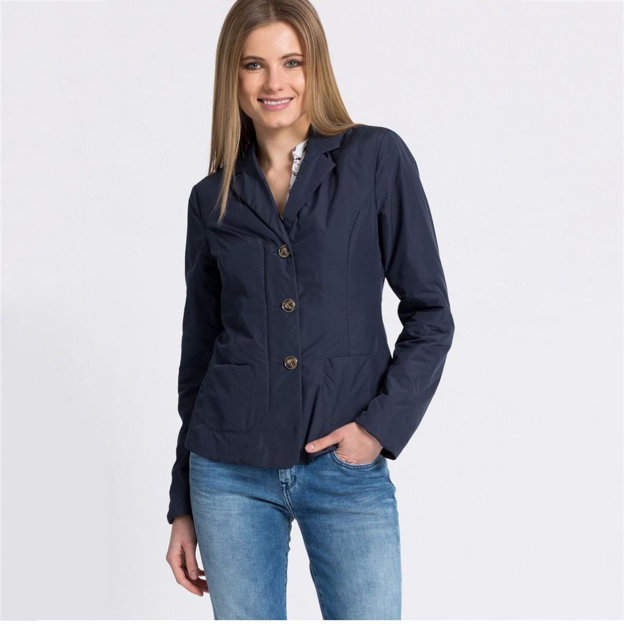 Демисезонная женская куртка Geox W5221G DARK NAVY