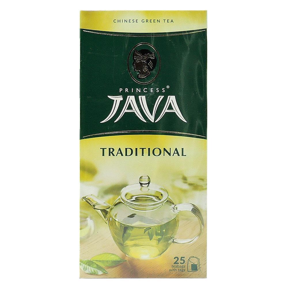 """Чай """"Принцесса Ява"""" китайский зеленый байховый 25 пакетиков"""