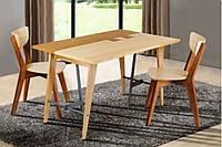 """Стильный обеденный стол """"Дублин"""" с интересным дизайнерским решением на столешне"""