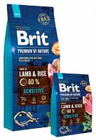 Brit Premium (Брит Премиум) by Nature Sensitive Корм для собак с ягненком  8 кг