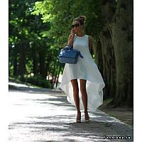 Платье хит лето 2015 молочное