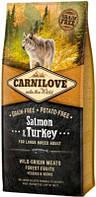 Carnilove (Карнилав) Adult Large Breed  Сухой собачий корм с лососем и индейкой 12 кг