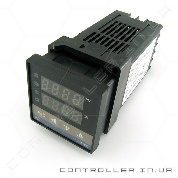 Контроллер температуры REX-C100 0-400°С SSR