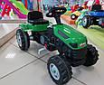 Детский педальный трактор Пилсан Active Traktor Велотрактор веломобиль, фото 3