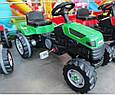 Детский педальный трактор Пилсан Active Traktor Велотрактор веломобиль, фото 4