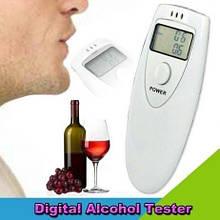 Алкотестер цифровой, алкометр, драгер, тестер на алкоголь ALC 002