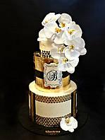 Свадебный  торт Золото