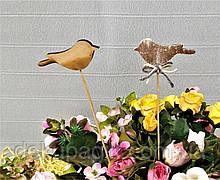 Декор на палочке, фигурка 7см, в ассортименте птичка№2