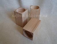 Подсвечник деревянный (8 см.)