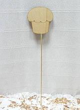 Декор на палочке, фигурка 7см, в ассортименте куличик№2