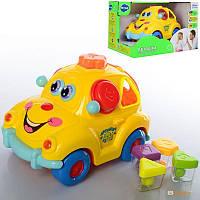 Развивающая игрушка-сортер Музыкальная Автошка Hola, 9170