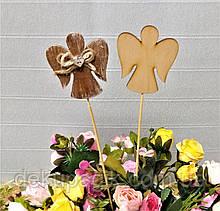 Декор на палочке, фигурка 7см, в ассортименте ангел №1