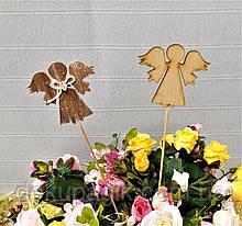 Декор на палочке, фигурка 7см, в ассортименте ангел №2