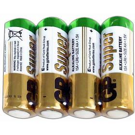 Батарейки GP R6 (палец) AA, Щелочная-ALKALINE