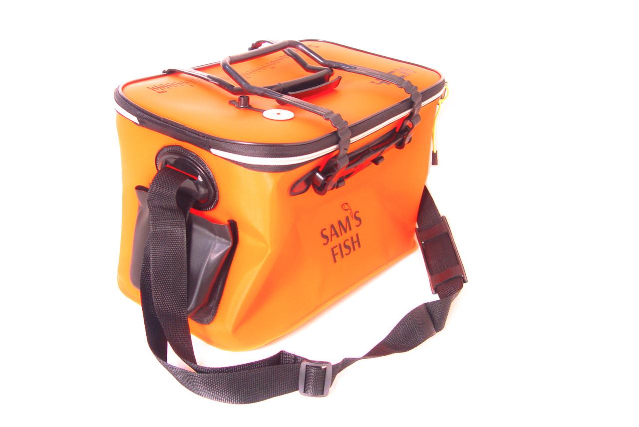 984816fa0f54 ... Сумка ведро для рыбалки водонепроницаемая с карманом 40х25х25см  SF23834, ...