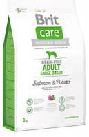 Brit Care (Брит Кеа) G F Adult Large Breed Сухой корм для крупных пород собак с лососем и картофелем 3 кг
