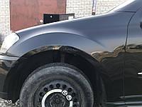 Крыло левое Mercedes ml-class w164