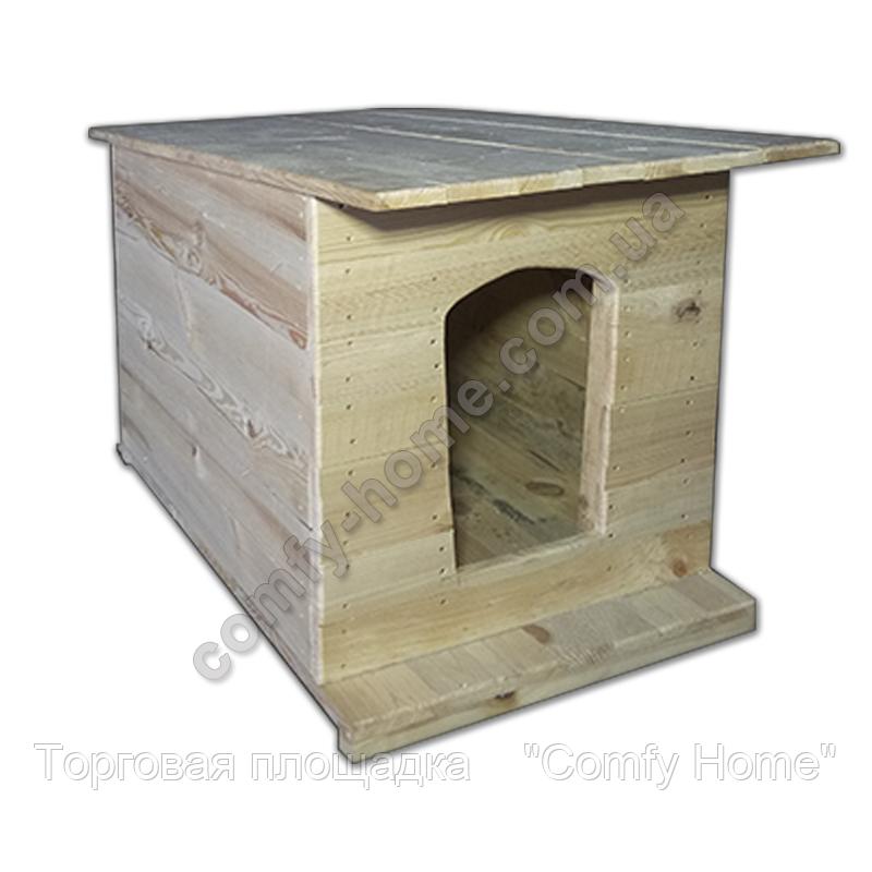 Будка для собак из дерева, фото 2