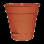 Вазон Глория с нижним поливом 16х15,5см 1.5л, фото 1