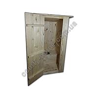 Туалетная кабина деревянная