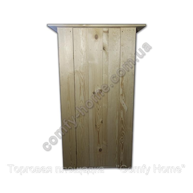 Туалетная кабина деревянная, фото 2